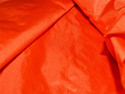Orange Pure Plain Silk Dress Apparel Fabric