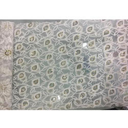 472fca03e5 Embroidered Net Fabric - Jaali Ka Kadaidar Kapdaa Latest Price ...