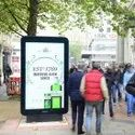 Out Freestanding Advertising Kiosk