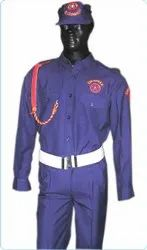 Blue Security Guard Uniforms