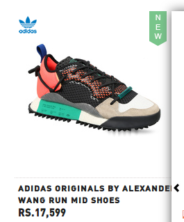 6fd05510c1f Product Image. Read More. Adidas Originals By Alexander Wang Run Mid Shoes