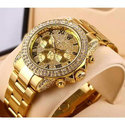 Round Rado Real Natural Diamond Watch, For Party Wear, Packaging Type: Box