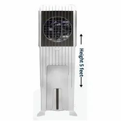 White Slim Long Air Cooler Body, For Room Cooling