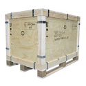 Brown Industrial Packaging Wooden Pallets Box, Size: 2x3 Feet