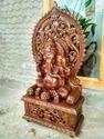 Mangal Murti - Maha Ganapathy Teakwood 3 foot