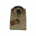 Mens Dotted Printed Shirt