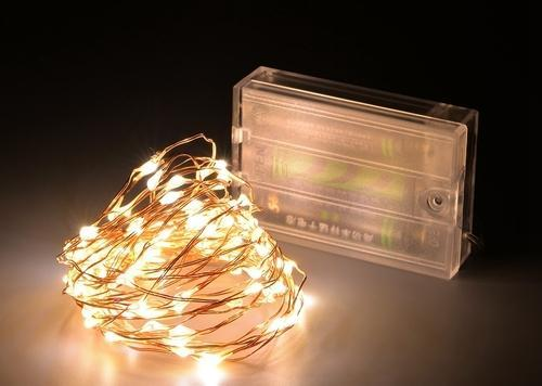 Led Fairy String Lights Warm White Battery Operated