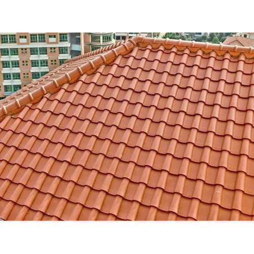 Clay Corrugated Roofing Sheets At Rs 80 Kilogram