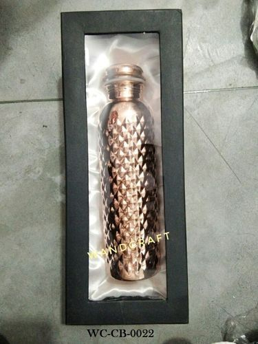 Wandcraft Exports Marriage Gift Copper Water Bottle