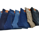 Casual Denim Slim Fit Jeans, Waist Size: 28 To 36 Inch