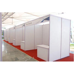 White Exhibition Stalls