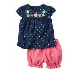 Chetna Organic Cotton Kids Shorts Set
