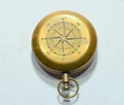 Handmade Brass Compass