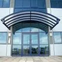 Stainless Steel Glass Entrance Canopy
