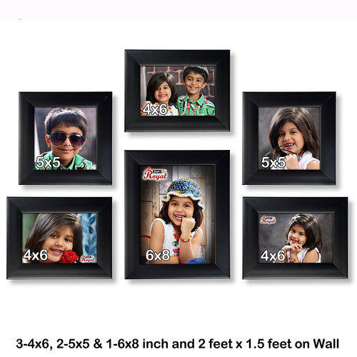 Set Of 6 Individual Photo Frames