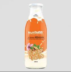 Kesar Pista Milkshake, Packaging Type: Bottle
