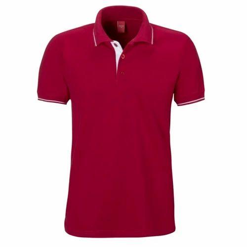 097fbf53 Mens Casual Wear Plain Polo T Shirt, Rs 150 /piece, Bhola Traders ...