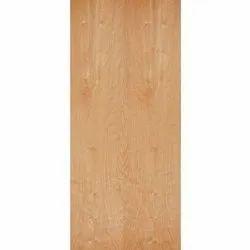 Brown Wood Raw Flush Door