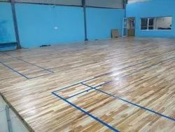 Solid Wood Badminton Court Flooring