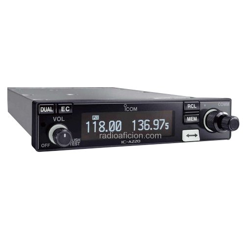 Icom IC-A 220 VHF Communications Transceiver, Application