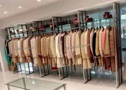 Display Racks for Ethnic Wear Store