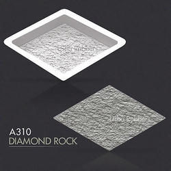 A130 Diamond Rock Rubber Paver Mould