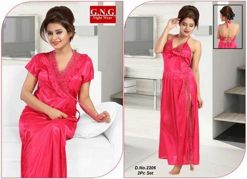 Ladies Designer 2 Piece Nighty at Rs 240  piece(s)  f1a1ccb6b