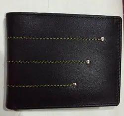 Bi Fold mens leather stylish stitching wallets, Card Slots: 7