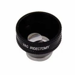 Black Iridectomy Lens For YAG Laser for Diagnostic