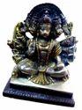 Panchmukhi Hanuman Brass Statue