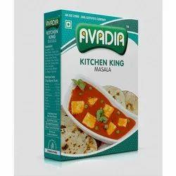 Avadia Kitchen King Masala, Packaging Type: Box