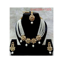Anniversary And Engagement Ladies Party Wear Necklace Set