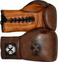 Leather Vintage Series Boxing Gloves, For Safety, Packaging Type: Bag