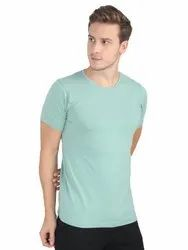 Mens Plain Cotton Round Neck T-Shirts