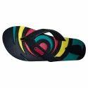 Leemos Black, Red Galio Slippers, Size: 5x8