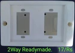 2 Way RM Board Multipurpose Gang Box Board