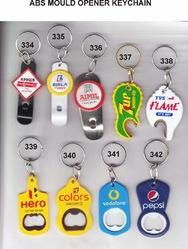 Multicolor Plastic Promotional Keychains