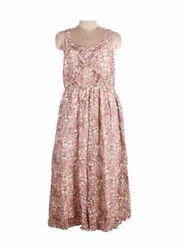 Ladies Floral Print Dress
