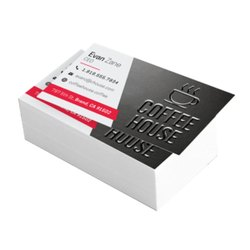 Velvet Plus Spot UV Visiting Card