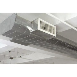 Stainless Steel Electric Air Conditioner Oval Ducting, Capacity: 5.5ton To 100ton, Size: 8-60