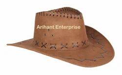 Arihant Brown Cowboy Hat, Size: S, M & L