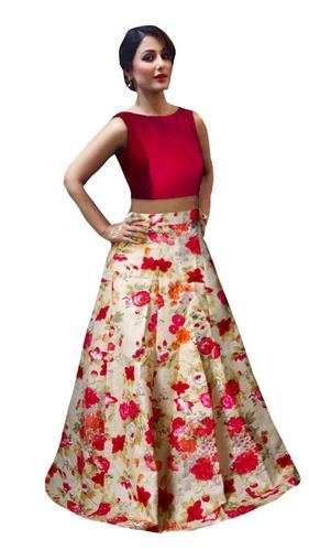 5efa8a70c8 Women's Banglori Satin Red Lehenga Choli, Rs 449 /piece, Sky Global ...