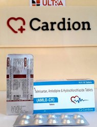 Telmisartan 40mg  Amlodipine 5mg Hydrochlorothiazide 12.5mg Tablet