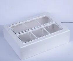 PVC Rectangular 12 Way Modular Surface Gang Box, For Electrical Fitting