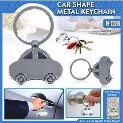 Car Shape Metal Keychain H-528