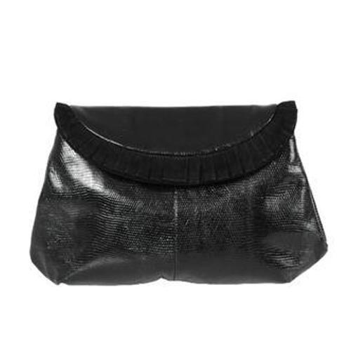 37fbc9ea34b Black Leather Designer Clutch Purse, Rs 700 /piece, Urooj ...
