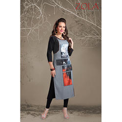 3/4th Sleeves Kurti