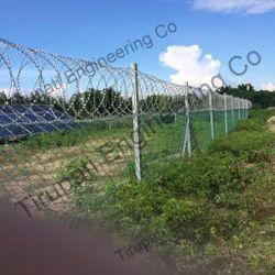 Solar Plant Fencing