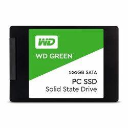 SSD Sata WD Green 120GB Internal Solid State Drive, Usage: Desktop, Laptop