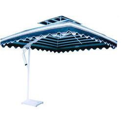 Garden Side Pole Square Umbrella